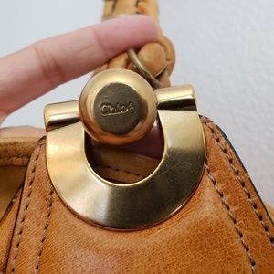 Chloe Bags - Chole Tan Leather Purse With Braided Handle